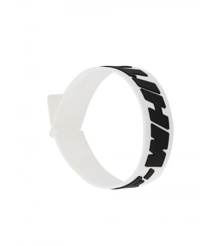 raised logo bracelet-off-white-simple-caracters