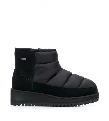 quilted ankle boots-ugg-simple caracters