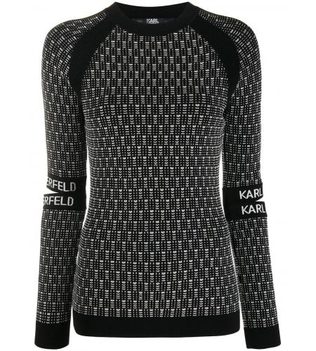 cut-out sleeve jumper-Karl-Lagerfeld_simple-caracters.gr