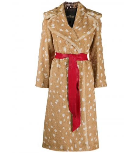 faux-fur belted pattern coat-Marc Jacobs_simple-caracters.gr