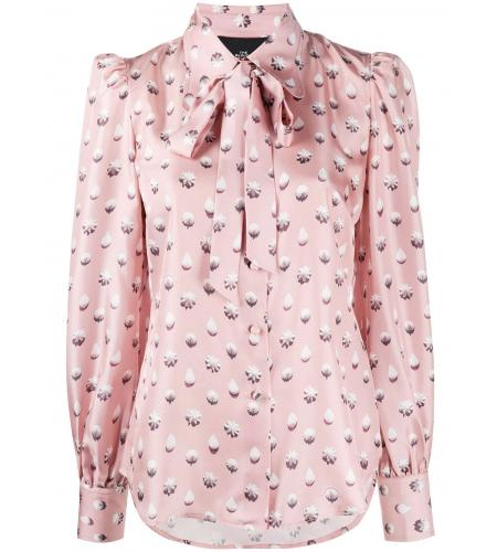 sweet icing print pussy-bow blouse-Marc Jacobs_simple-caracters.gr