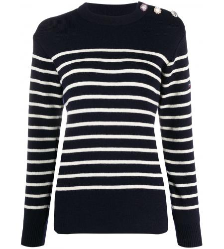 striped long-sleeve jumper-marc jacobs-simple caracters