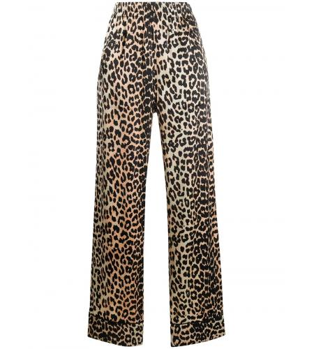 leopard-print palazzo pants-ganni-simple caracters