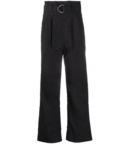 high-waisted belted trousers-ganni-simple caracters