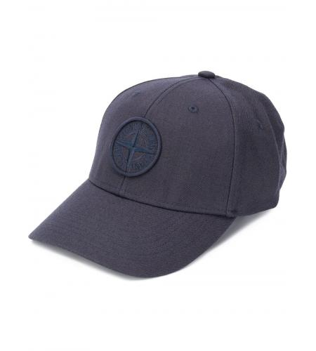 embroidered logo cap-stone island-simple caracters