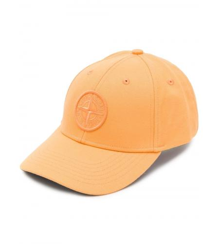 logo patch baseball cap-stone island-simple caracters