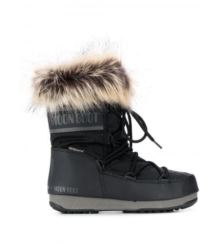 faux-fur trim moon boots-simple caracters-moon boot