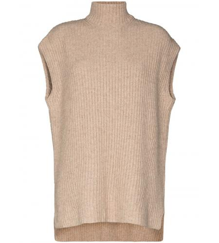 high-neck short-sleeve jumper-ganni-simple caracters