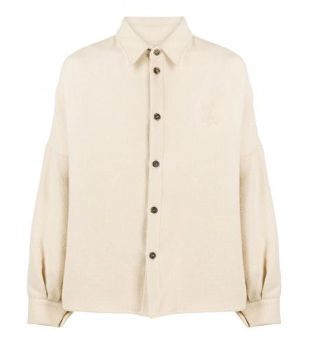 boxy blouson jacket-simple caracters-opening ceremony