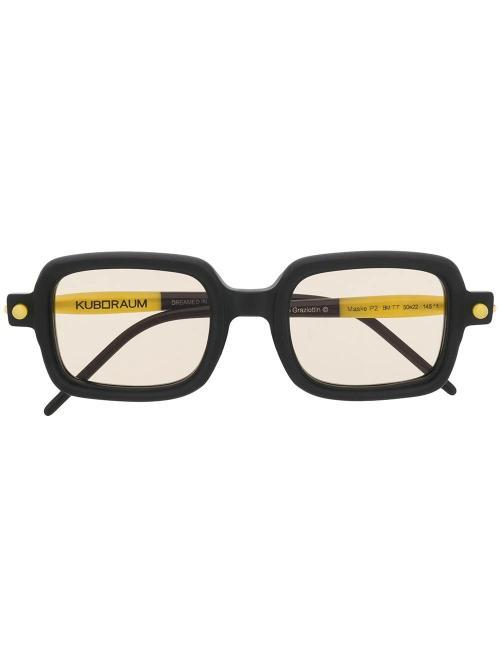 P2 Mask unisex sunglasses-Kuboraum-simple-caracters