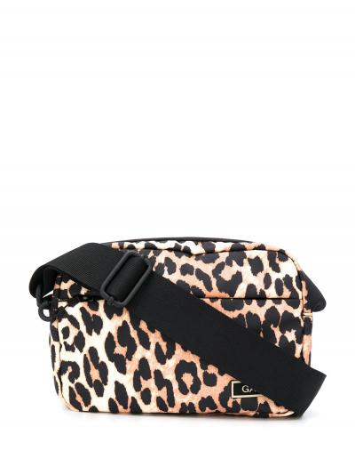 leopard print shoulder bag-ganni-simple caracters