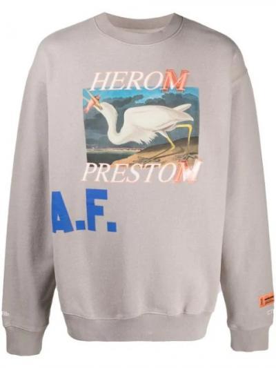 HERON PRESTON- SIMPLE CARACTERS-  CREWNECK OS HERON A.F - HMBA014R21JER0036145