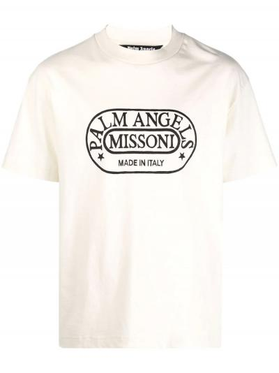Heritage Tee_Simple Caracters_Palm Angels x Missoni_PMAA001F21JER032